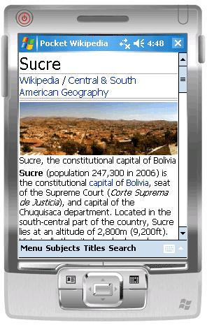 Pocketwikipedia