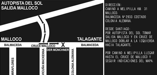 Mapa Oktoberfest Chile